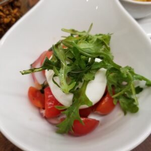 TCE - plated caprese